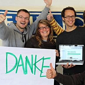 Geschichten aus dem Team: Crowdfunding