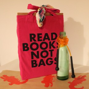Flaschenpost: Geschenke nachhaltig verpackt