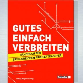 """""""Gutes einfach verbreiten"""" mit dem openTransfer E-Book"""