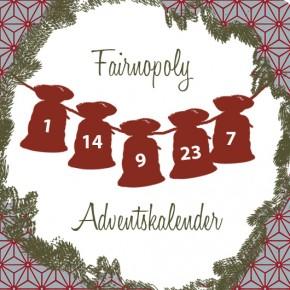 Der Fairnopoly-Adventskalender ist wieder da!