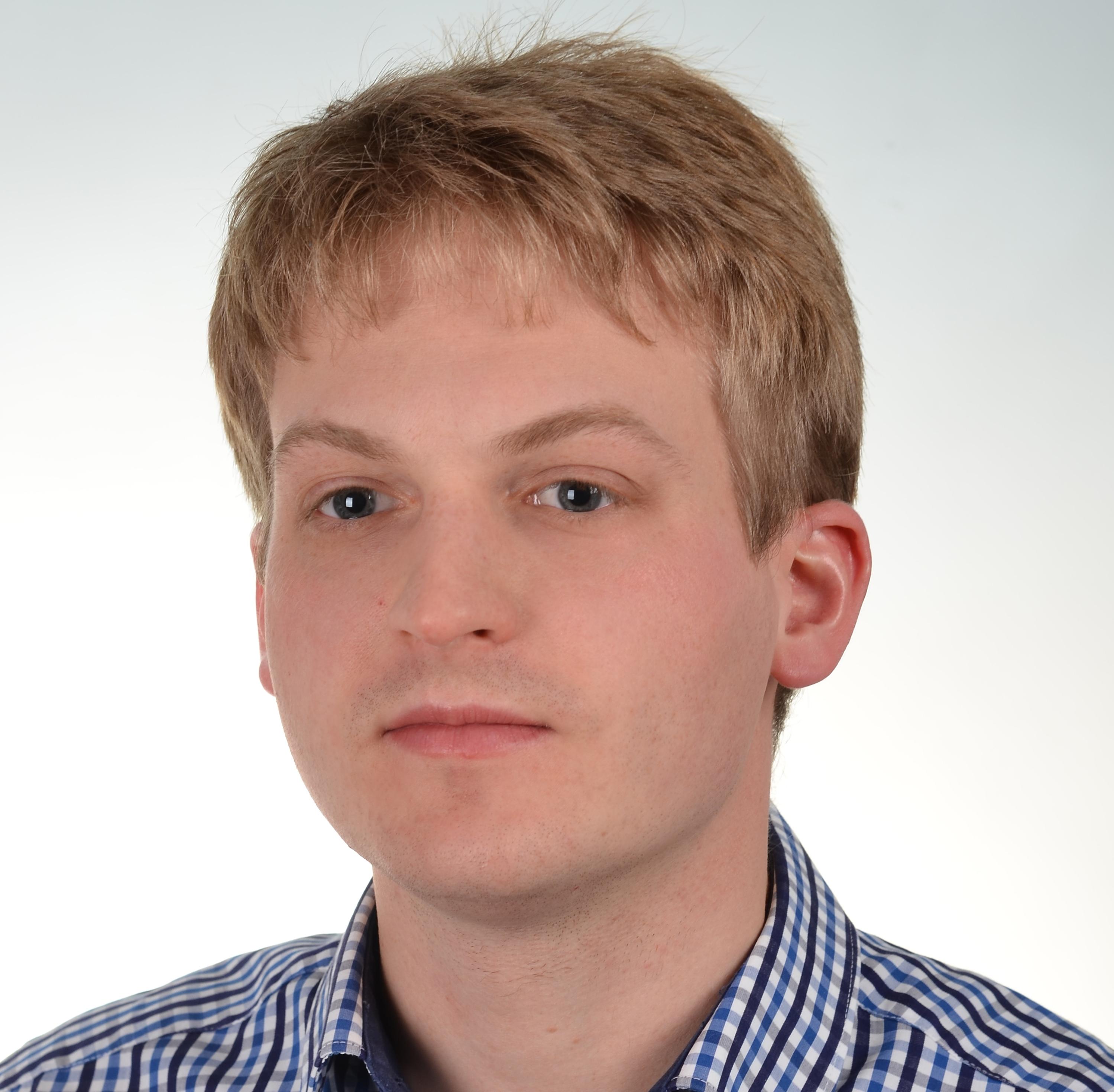 Praktikant Jakub Marchwian